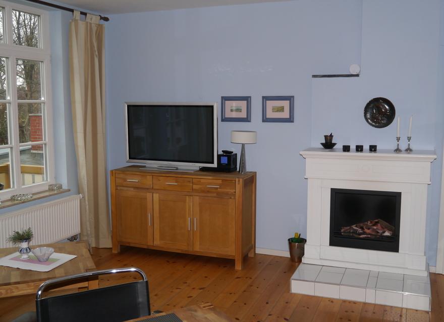 Wohn /Schlafzimmer Mit Kamin