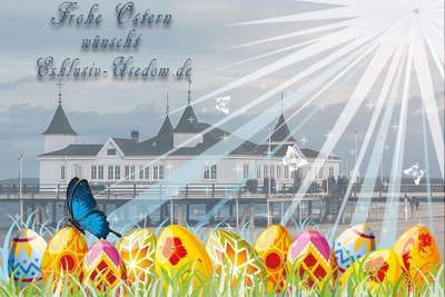 Frohe Ostern auf Usedom