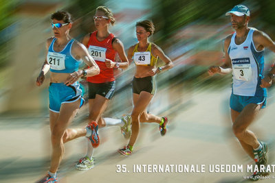 Am 6. September startet der 35. Internationale Usedom-Marathon
