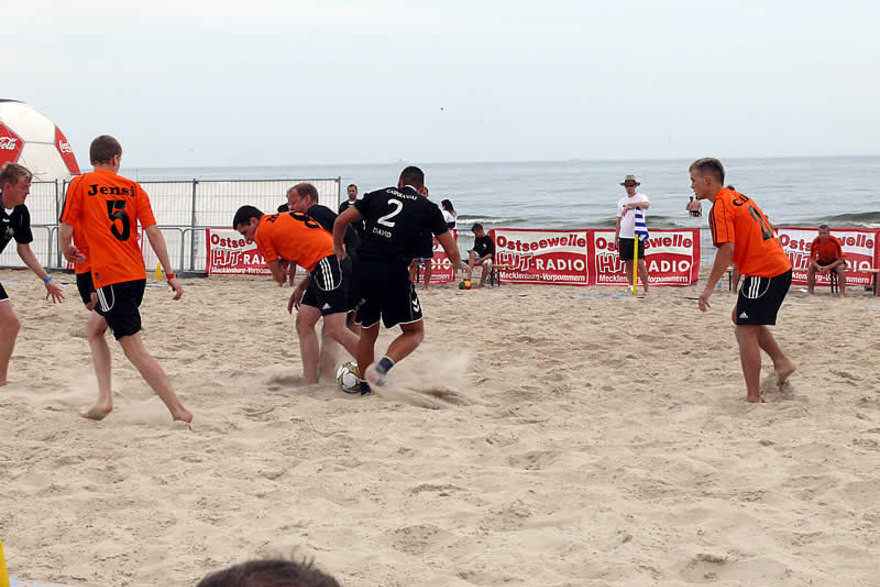 2. Beach Soccer Cup Usedom in Ahlbeck 2011