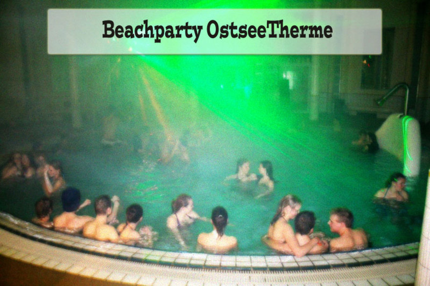 Beachparty in der Ahlbecker OstseeTherme