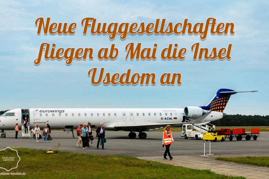 Germanwings, airBaltic, InterSky und SkyWork fliegen ab Mai